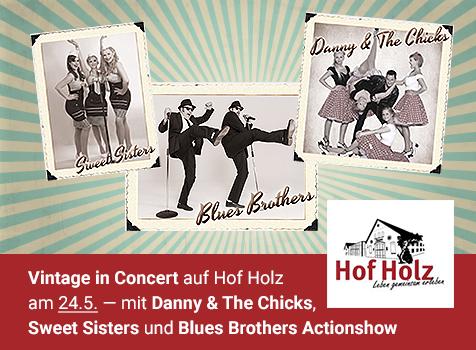 Vintage in Concert am 24. Mai